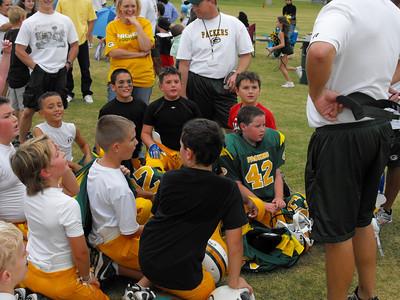 Remington's football...Oct. 3, 2009.