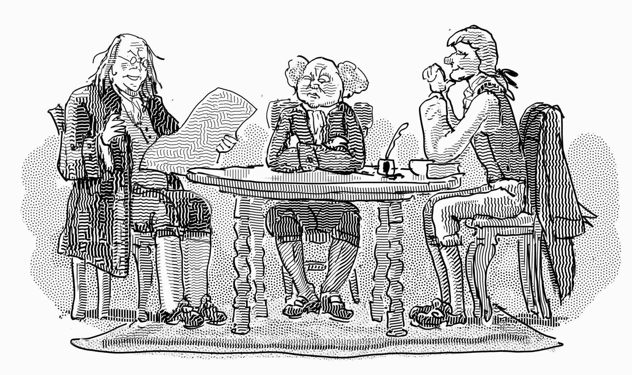 Illustration from the Claremont Review of Books; Winter 2015
