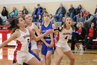 US Girls Basketball vs WC 1-24-20