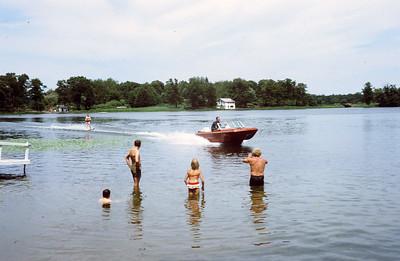 1971 MN lake waterski