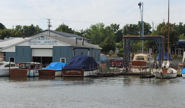 July 20, 2018. Sandy  & Terry Parker's fully restored 1970 26 ' Lyman is splashed !