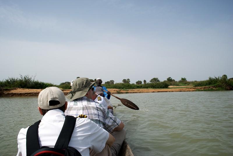 boat, central region, Chad, mike delorenzo, paul gazan, river, xtreme safari  OFM team