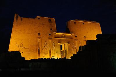 Egypt - Temple of Falcon God Horus in Edfu