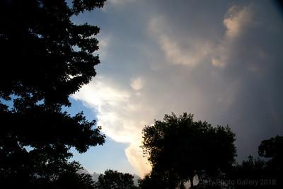 TX Summer Clouds July 2014