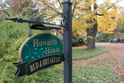 Howarth House B & B in Fitchburg, Oct. 18, 2019