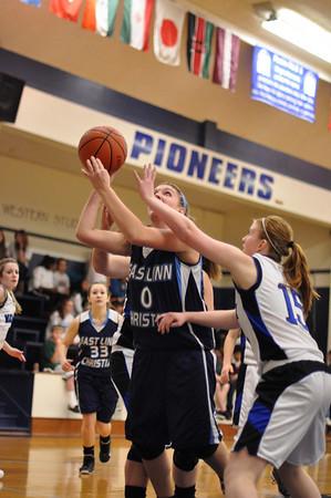 Western Mennonite vs. ELCA Girls Basketball