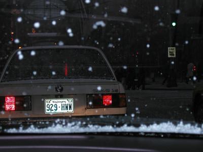Snow in Seattle - Winter 2001-2002