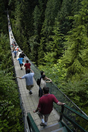 3rd day - Capilano Suspension Bridge