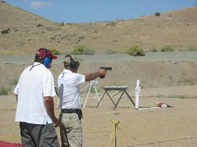 Carson man v. man steel pistol Sept. 2011