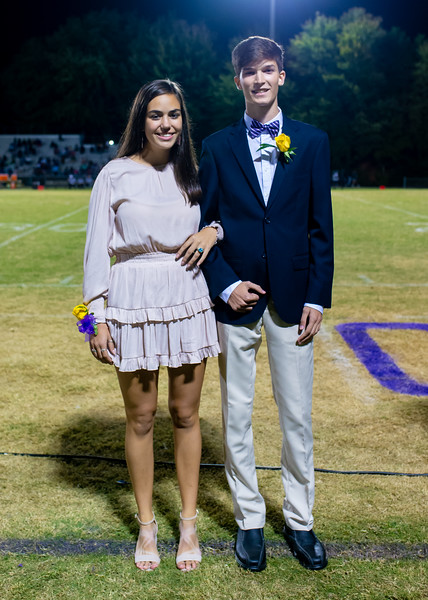 Broughton football vs Enloe. Homecoming. October 10, 2019. D4S_0347