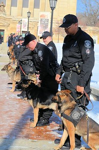 Funeral for Rocco Pittsburgh Police K9