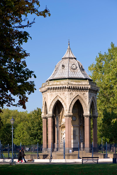 Memorial Drinking Fountain, Victoria Park, Hackney, London, United Kingdom