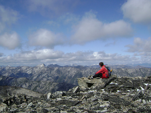 Ward Mountain 2008