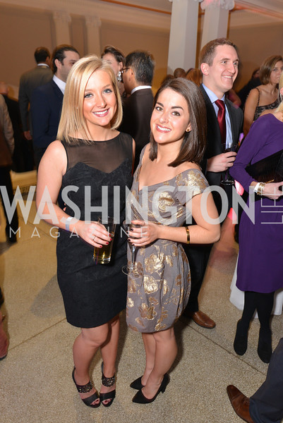 Christina Salek-Raham, Emily Gagola, Washington Life Magazine hosts the 8th Annual Young and the Guest List party at the Carnegie Library.  Photo by Ben Droz.
