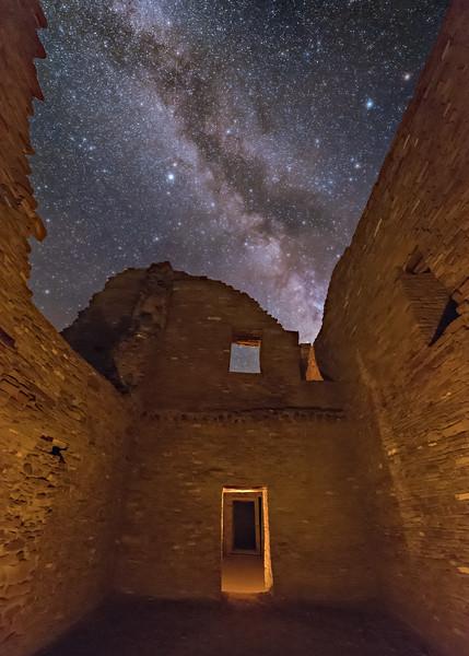 Inside Pueblo Bonito Ruins 5