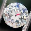 2.08ct Old European Cut Diamond GIA J VVS2 4