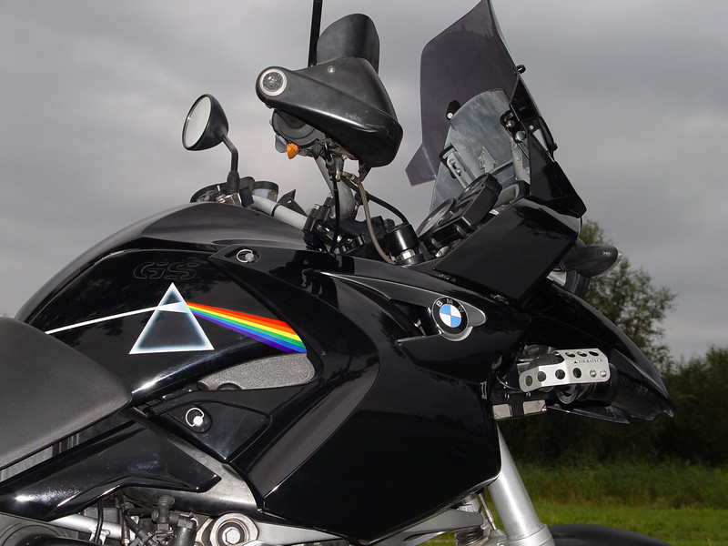 Ton's (aka ECM) modified / customised 2004 BMW R1200GS
