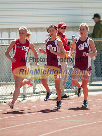 Women's 800 - 2014 Ernie Mousseau Invite