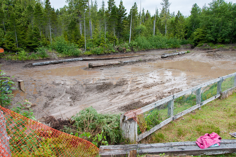 Mud-bog race in Port Clements, Haida Gwaii, British Columbia