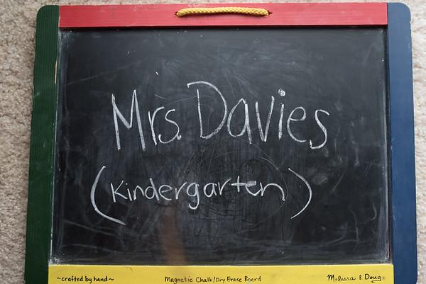 Mrs. Davies - (Kindergarten)