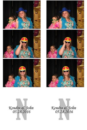 Kendra (Cavin) & John Noss II Photo booth 05/28/2016
