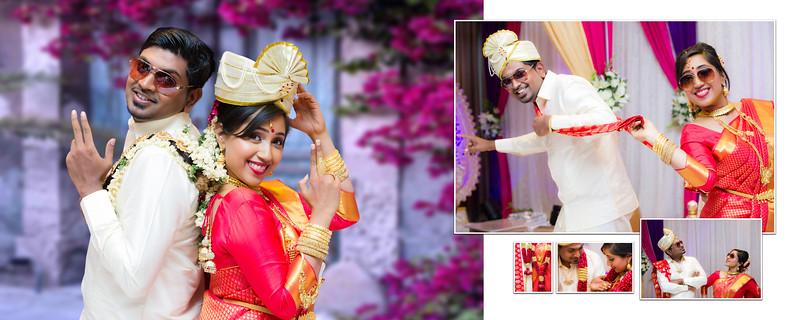 Lava and Michelle Hindu Wedding Album