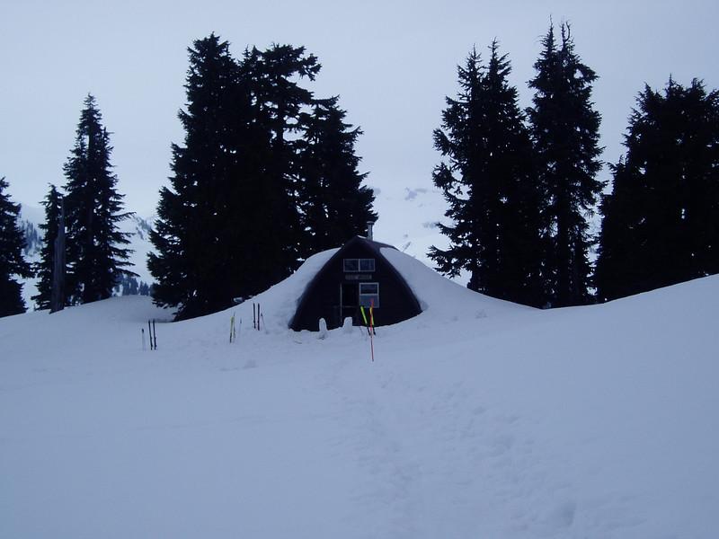 Elfin Shelter Elevation Gain 600m High Point 1560m