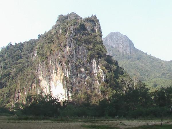 Pha Thok Caves, Northern Laos (December 9, 2004)