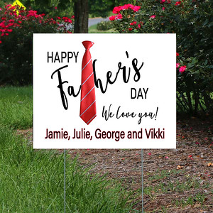 Yard Signs - Father's Day