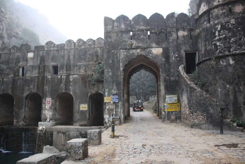 entrance to Ranthambore reserve