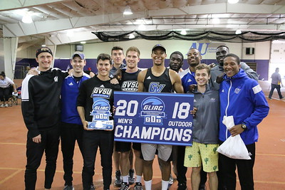 2018-05-04 GLIAC Outdoor Championships - Awards and Team