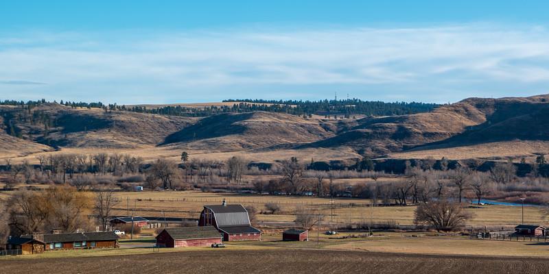 Montana Ranch and Barn