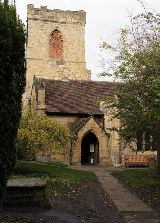 . The exterior of Holy Trinity Church, Goodramgate (Photograph by Dennis Lennox)