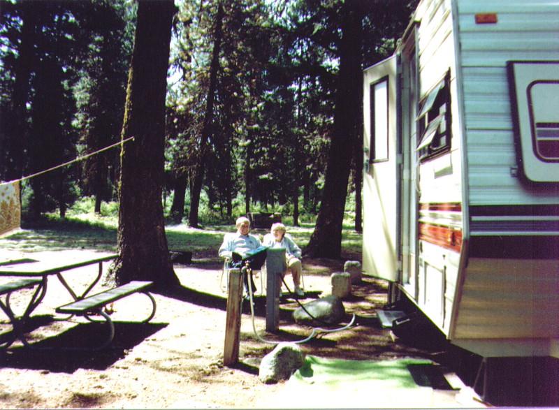 Wayne & Bonnie, Ponderosa State Park nr. McCall, ID 9-89 .jpg