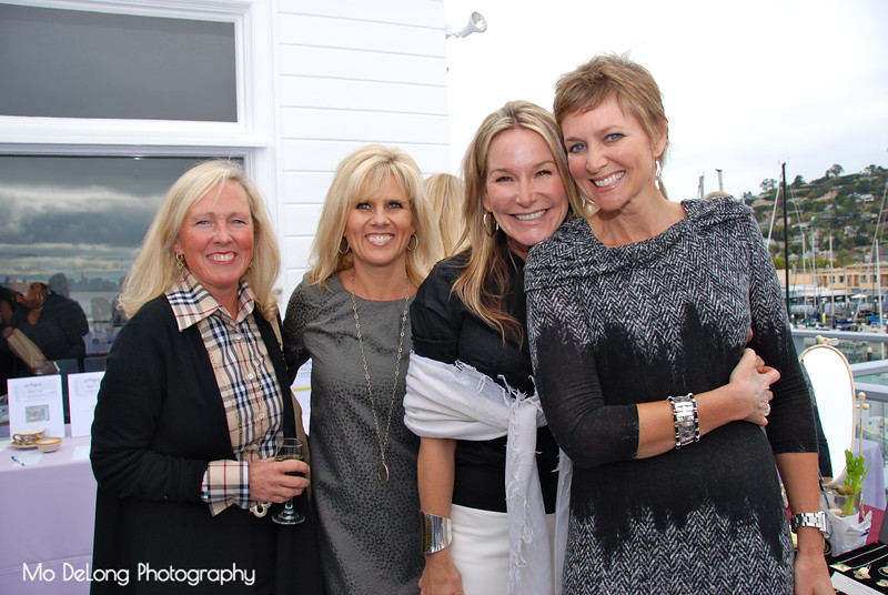 Marilyn Rooney, Susan Conroy, Kathy Kamei and Wendy Calcaterra