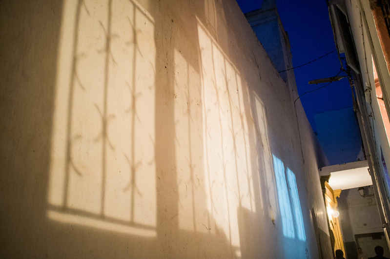 Wall in the Medina, Rabat, Morocco.
