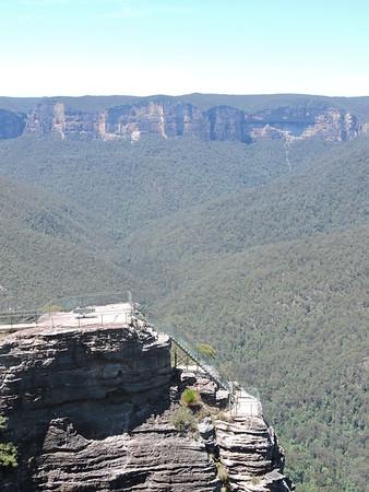 Pulpit Rock Lookout , Blackheath , NSW - Australia