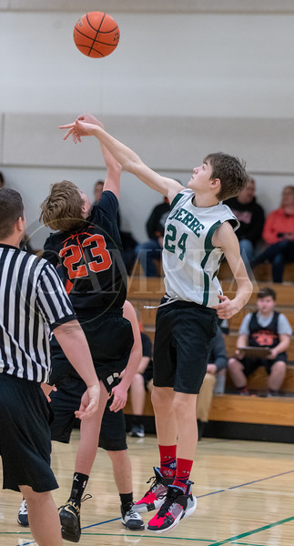 7th Grade Governor  Basketball vs Huron - Jan 11 2020
