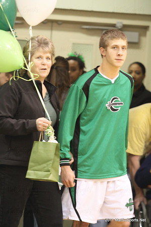 Colony Senior Night 2-8-2011