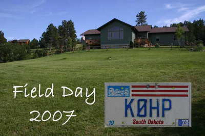 2007 Field Day - Spearfish, SD
