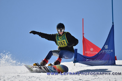 CNISSF Snowboard State Championships 2014 Slalom