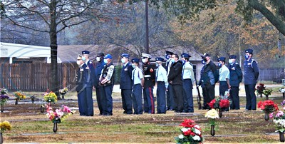Tyler Memorial Cemetery Celebrates National Wreaths Across America Day by Don Spivey