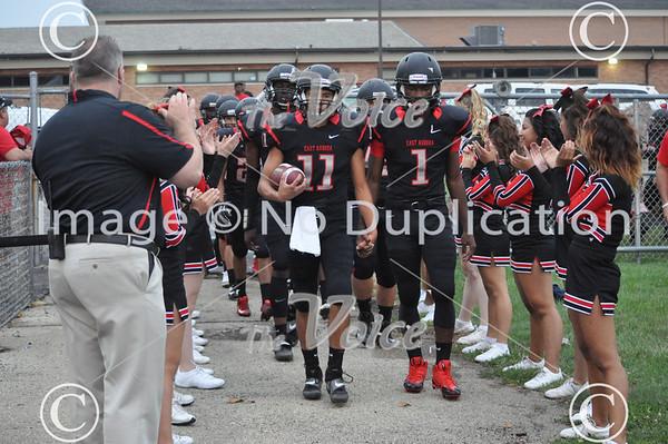 West Aurora High School Football at East Aurora High School in Aurora, Ill 8-31-13