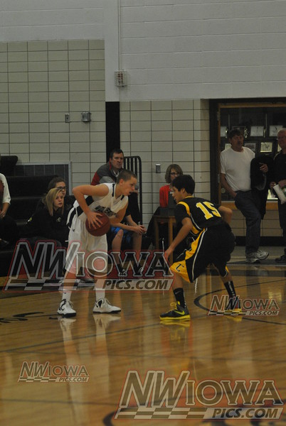 JV Boys Basketball vs Cherokee 12/03/2012
