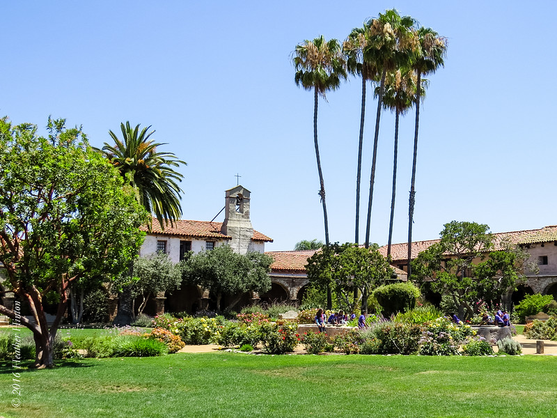 The Mission in San Juan Capistrano
