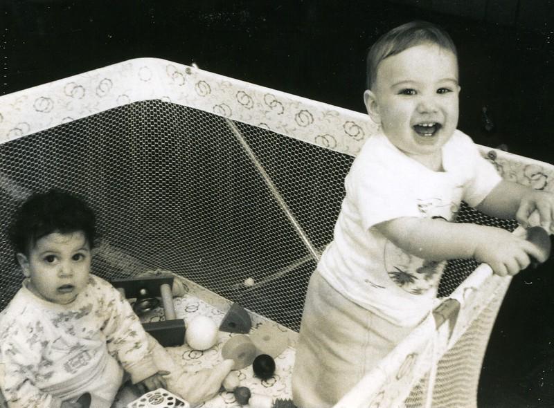 1967 055 Laura and Bryan (1 yr)).jpg