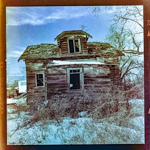 Manitoba abandoned - on Prairies - Feb 28