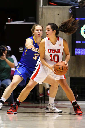 U of U Women's Basketball vs UCSB • 12-30-2013