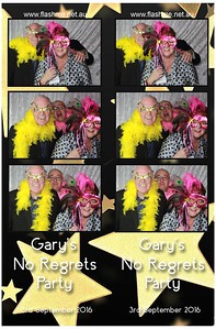 Gary's No Regrets Party - 3 September 2016