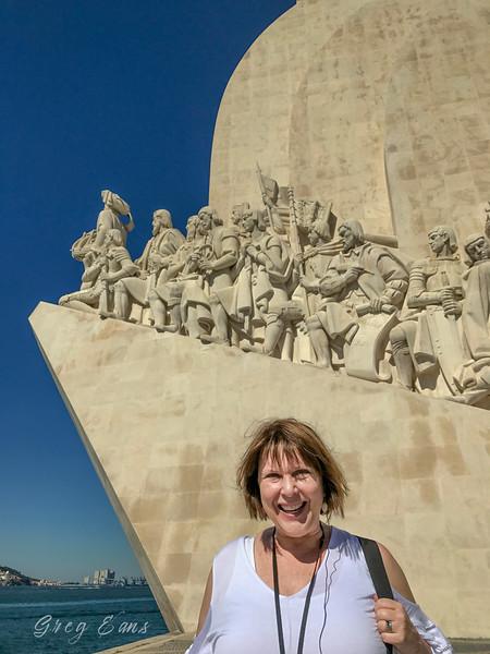 Padrão dos Descobrimentos (Monument to the Discoveries). Lisbon, Portugal.